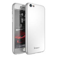 Чехол Ipaky для Iphone 6 / 6s бампер + стекло 100% оригинальный silver 360