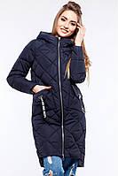 Удлиненная женская куртка прямого фасона Жанин