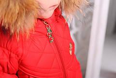 """Детский зимний комплект для девочки """"Монклер""""  92-116, фото 3"""