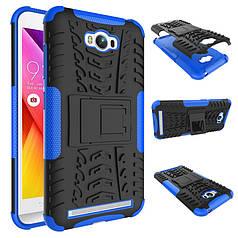 Чехол противоударный ASUS Zenfone MAX ZC550KL 5.5 Z010D бампер синий