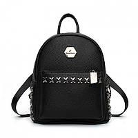 Рюкзак женский Hag Silver черный