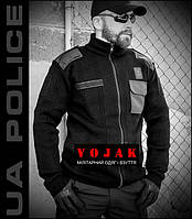 "Свитер на молнии ""POLICE"" BLACK"