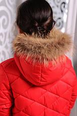 Дитяча зимова куртка для дівчинки Маруся,122-134 зростання, фото 3
