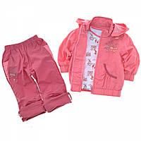 Детский костюм демисезонный тройка для девочки Carters, 92-104