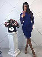 Платье ажурное (3 цвета), фото 1
