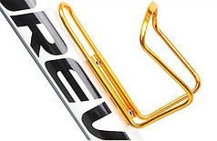 Алюминиевый флягодержатель Золотой