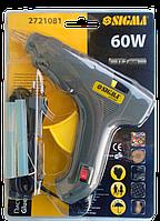 """Пістолет клейовий з вимикачем 11 мм 60 Вт  """"Sigma"""""""