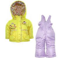 Детский костюм демисезонный двойка для девочки Донило , 74-98