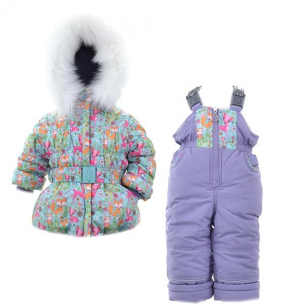 Детский зимний комплект для девочки Донило  3700, 74-98