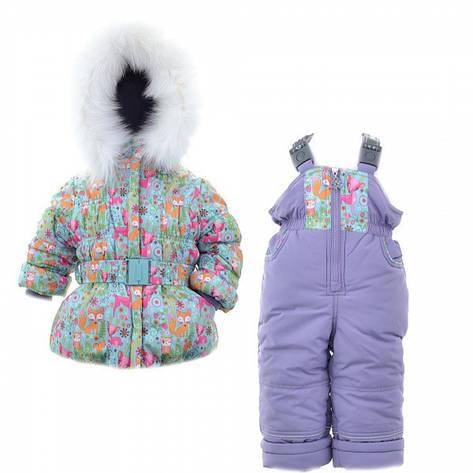 Детский зимний комплект для девочки Донило  3700, 74-98, фото 2
