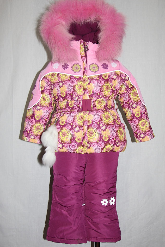 Детский зимний комплект для девочки Кико  80 размер