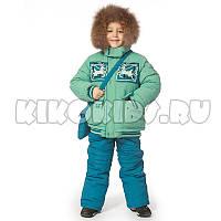 Детский зимний комбинезон для мальчика Кико 80-104 №3432