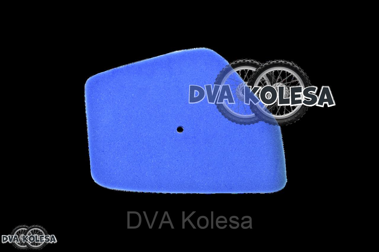 Фильтр воздушный  DJ1 AF12  поролон, с пропиткой, синий