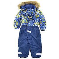 Детский зимний комбинезон для мальчика Aimico 80-92. Мембрана