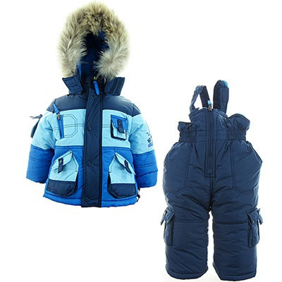Детский зимний комбинезон для мальчика Донило 74-104