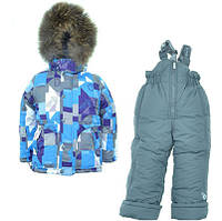 Детский зимний комбинезон для мальчика Донило 110-128