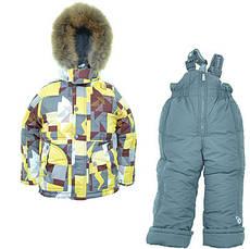 Дитячий зимовий комбінезон для хлопчика Донило 110-128, фото 3