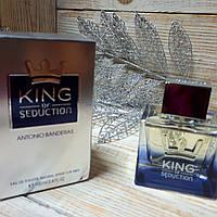 Antonio Banderas King of Seduction Eau De Toilette Natural Spray For Men 100ml.
