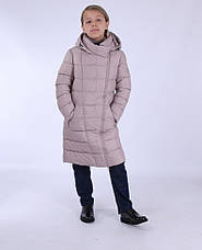 Дитяче зимове пальто для дівчинки Snow Image 710, 140-164, фото 3