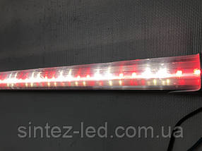 Светодиодная лампа для мяса розовая T8 G13 10W 600мм 220V Код.58726