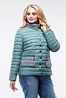 Модная демисезонная куртка до 58 размера Флорин