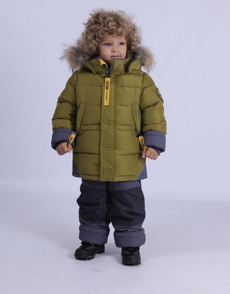 Детский зимний комбинезон для мальчика Донило 4625, 74-92