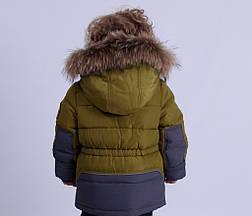 Детский зимний комбинезон для мальчика Донило 4625, 74-92, фото 3