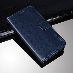 Чехол Idewei для Meizu M5C / Meilan A5 книжка кожа PU Синий