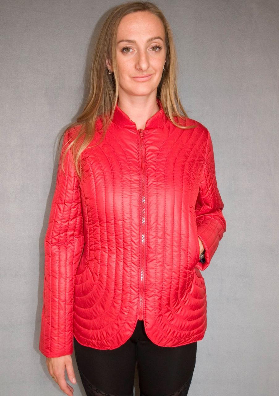 Куртка женская №36 (красный)