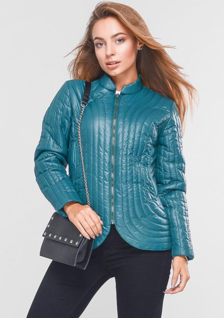 Куртка женская №36 (зелёный)