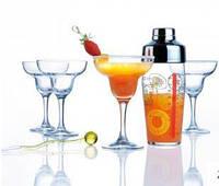 Набор для коктейля Luminarc Margarita (шейкер+4 бокала) H8928