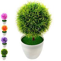 Искусственные цветы в горшке 25см