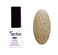 Гель лак Tertio №61, 10 мл светло-золотистый с микроблеском