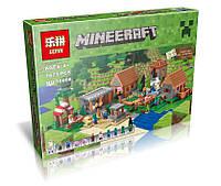 Конструктор Lepin 18008 Деревня (аналог Lego Майнкрафт, Minecraft 21128), 1673 дет, фото 1