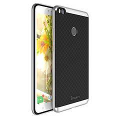 Чехол Ipaky для Xiaomi Mi Max 2 бампер оригинальный silver