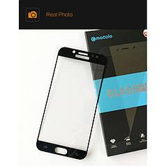 Защитное стекло Mocolo для Samsung J7 2017 / J730 полноэкранное черное