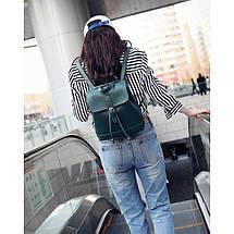 Рюкзак женский Jennyfer EX зеленый, фото 3