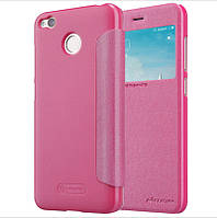 Чехол Nillkin для Xiaomi Redmi 4X книжка оригинальный Sparkle Series Pink