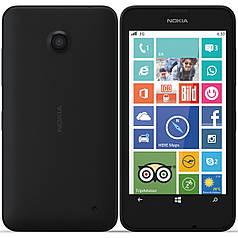 Задняя крышка для Nokia lumia 630, 635 черная панель