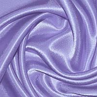 Креп ткань сатин фиолетово сиреневый
