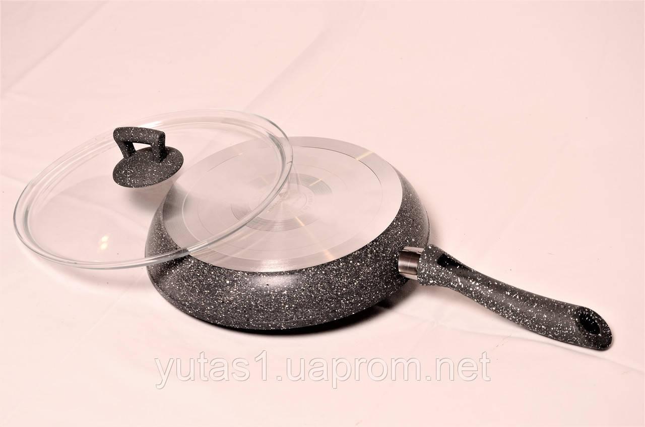 Сковорода со стеклянной крышкой Hascevher