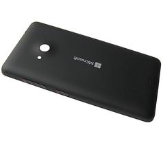 Задняя крышка Microsoft Lumia 535 панель черная