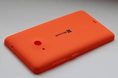 Задняя крышка Microsoft Lumia 535 панель оранжевая
