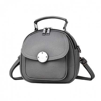 Рюкзак женский Jennyfer серый, фото 2