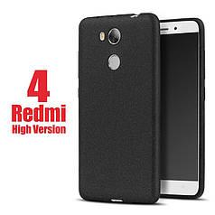 Чехол бампер MAKAVO для Xiaomi Redmi 4 Prime / Redmi 4 Pro / 3/32 Матовый ультратонкий черный