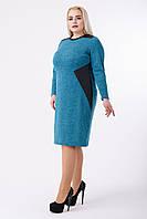 Платье женское Угол №1/2 (бирюза), фото 1