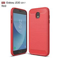 Чехол Carbon для Samsung J7 2017 J730 J730H бампер оригинальный Pink
