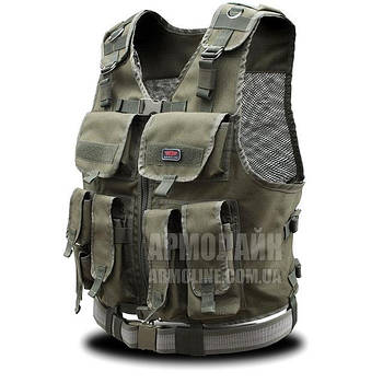 Разгрузочный жилет Армейский (ARMY) OLIVE