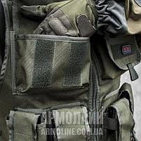 Разгрузочный жилет Армейский (ARMY) OLIVE, фото 8