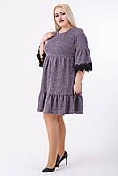 Платье женское Ульяна (пудра), фото 1